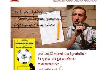 """Sant'Ilario (RC): """"Raccontare lo sport"""", incontro con Francesco Ceniti"""