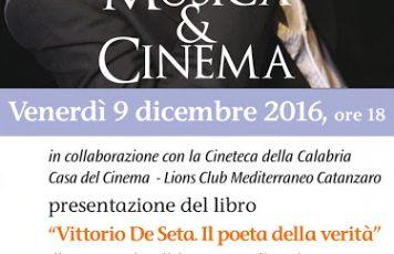 """Catanzaro: la rassegna cinematografica """"Lo sguardo di Ulisse"""" omaggia Vittorio De Seta"""