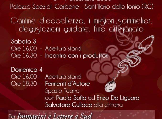 """Sant'Ilario dello Ionio (RC): """"Tastevin"""", la seconda edizione del Festival dei vini"""