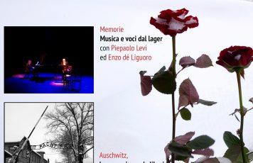 """Sant'Ilario dello Ionio (RC): """"Memorie"""", musica e voci dal lager con Pierpaolo Levi ed Enzo dè Liguoro e la mostra fotografica di Deborah Cartisano, per non dimenticare"""