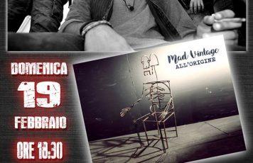 """Siderno (RC): I """"Mad Vintage"""" presentano l'album """"All'origine"""" alla libreria Mondadori"""