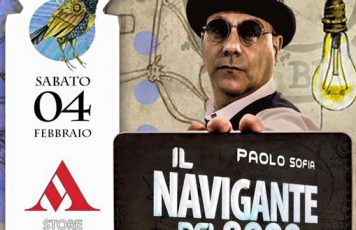 """Siderno (RC): Paolo Sofia presenta """"Il Navigante del 3000"""" alla Mondadori"""