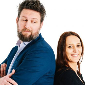 Igor Damilano e Cinzia Lacalamita