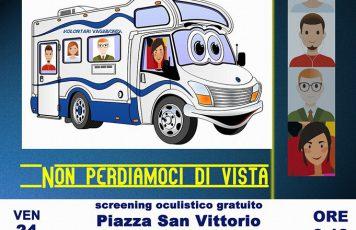 """A Roccella Jonica arrivano i """"Volontari Vagabondi"""" per lo screening oculistico gratuito"""