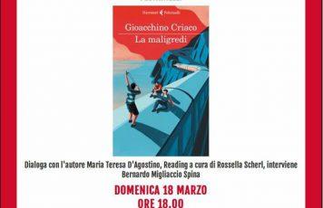 """Siderno (RC): Gioacchino Criaco presenta """"La maligredi"""" alla libreria Mondadori"""