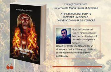 """Siderno (RC): alla libreria Calliope Mondadori """"La stirpe di fuoco"""", saga high-fantasy di Francesco Thierry Marzano"""