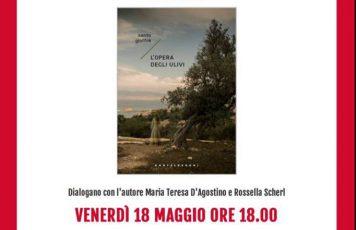 """Siderno (RC): Santo Gioffrè alla libreria """"Calliope Mondadori"""" con il suo nuovo romanzo, """"L'opera degli ulivi"""""""