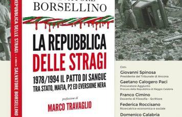 """Bovalino (RC),  il Caffè Letterario Mario La Cava presenta il libro """"La Repubblica delle stragi"""""""