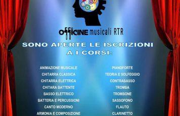 """Roccella Jonica (RC): l'Associazione Culturale Radio Tele Roccella organizza per il terzo anno consecutivo il """"Progetto Officine Musicali"""""""