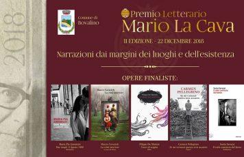 Bovalino (RC): Premio Letterario La Cava 2018, le cinque opere finaliste