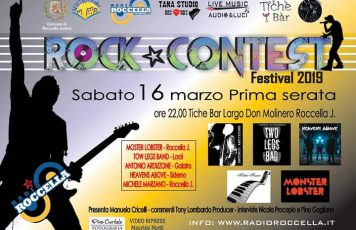 """Sabato 16 marzo la prima serata del """"Radio Roccella Rock Contest Festival"""" II Edizione"""