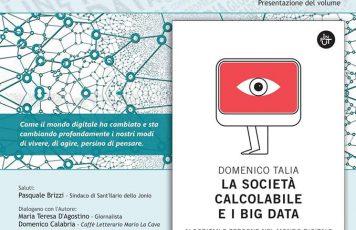 Sant'Ilario dello Ionio (RC): sabato prossimo a Palazzo Speziali-Carbone incontro con Domenico Talia sui temi della rivoluzione digitale e riflessi sociali