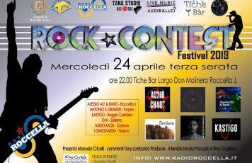 """""""Radio Roccella Rock Contest Festival"""": oggi, mercoledì 24 aprile, la terza serata"""