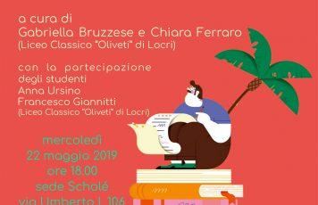 "Roccella Jonica (RC), Associazione Culturale Scholé:l'amore in versi nel ""Liber"" catulliano"