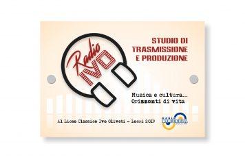 """Locri (RC),Liceo Classico """"Ivo Oliveti"""": oggi con Radio Roccella si inaugura lo studio di trasmissione e produzione Radio Ivo"""