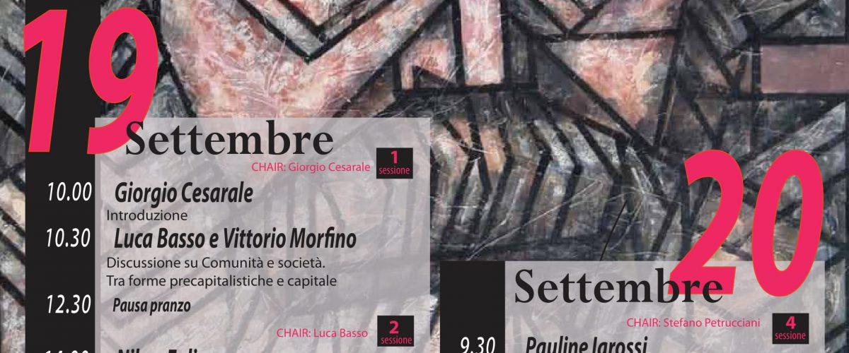 Marx sceglie Roccella Jonica: seminario di studi internazionale il 19 e 20 settembre all'ex Convento dei Minimi