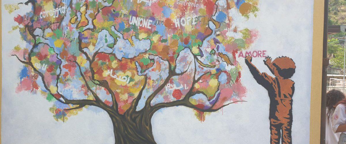 Camini (RC): arte e impegno sociale per gli studenti di Corato ospiti della Eurocoop Jungi Mundu nel paese dell'accoglienza