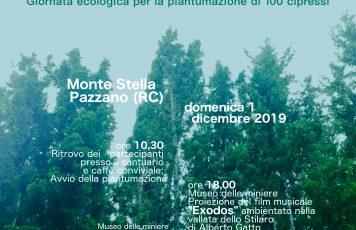 """""""100 cipressi sul Monte Stella"""": domenica prossima nella Vallata dello Stilaro una giornata per l'ambiente"""