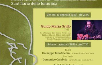 """Sant'Ilario dello Jonio (RC): venerdì 10 e sabato 11 gennaio """"Visioni da Sud"""" nel nome di Mario La Cava"""